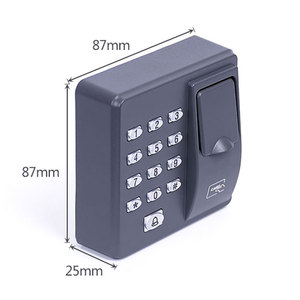 Image 3 - Parmak İzi Erişim Kontrolü Bağımsız Tek Kapı Denetleyici En Ucuz Bağımsız Tuş Takımı Parmak + RFID Kart X6 Kapı Giriş