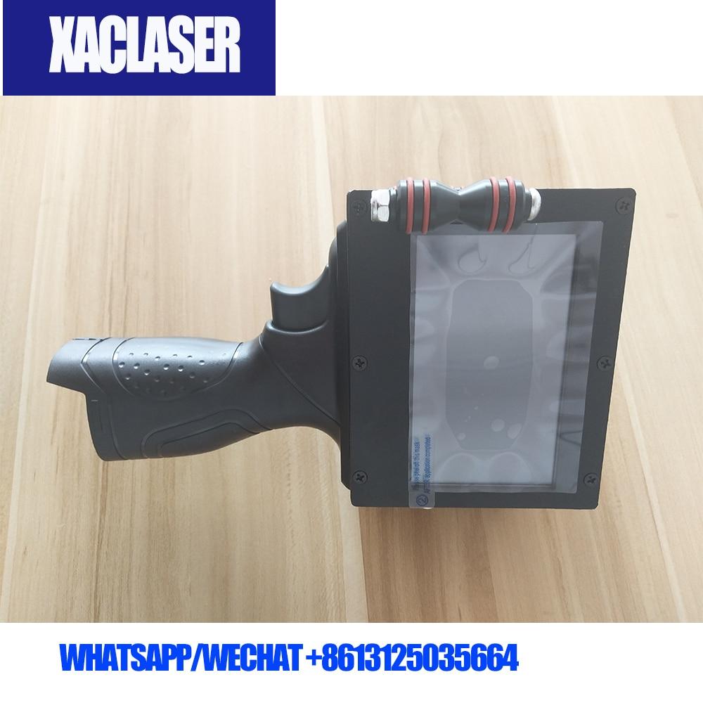 XACLASER High Quality Touch Screen Handheld Intelligent Inkjet Printer Ink Date Coding machine With Good PriceXACLASER High Quality Touch Screen Handheld Intelligent Inkjet Printer Ink Date Coding machine With Good Price