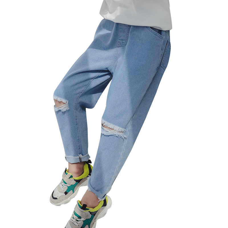 top-rated quality better price for strong packing Ripped Jeans For Girls 2019 Children's Jeans New Fashion Spring Clothes For  Girls Teenagers Baby Girl 9 10 11 12 13 14 Years Old