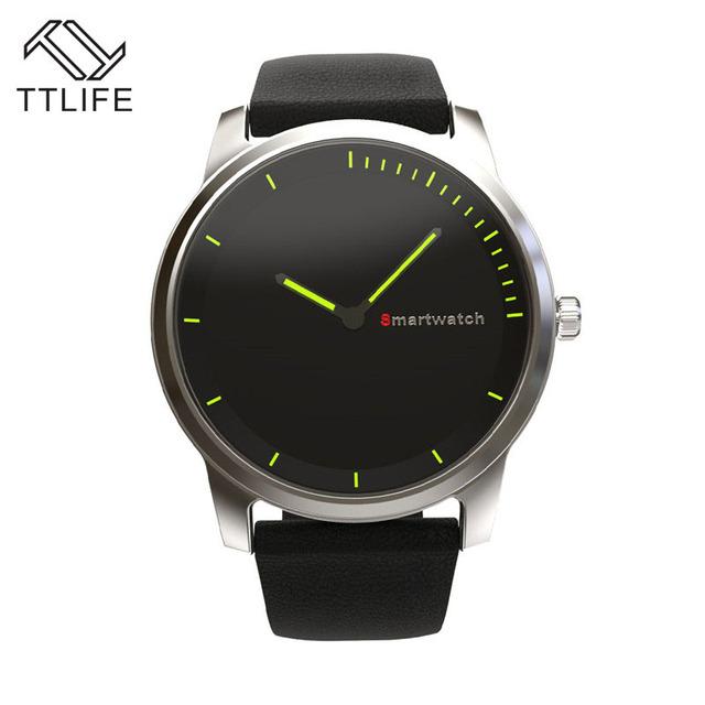 TTLIFE Marca Anti-lost Alarme Esportes Pedômetro Monitor de Freqüência Cardíaca Inteligente Smartwatch Bluetooth Relógio Inteligente Para Android IOS Telefone