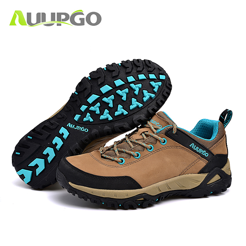 2016 Autumn Winter Outdoor Waterproof Hiking Shoes Men Outdoor Man Shoes Waterproof Breathable Mountaineering Hunting Boots Men yin qi shi man winter outdoor shoes hiking camping trip high top hiking boots cow leather durable female plush warm outdoor boot