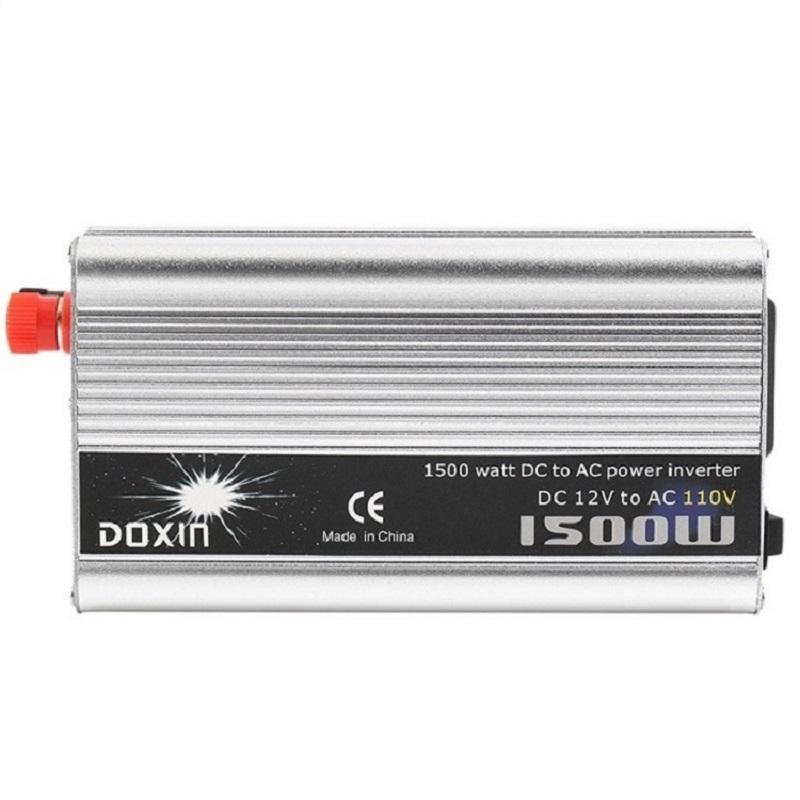 DC 12V to AC 110V 50Hz/60Hz 1500 Watt Converter 1500W Power Inverter 1500W Voltage Regulator Charger HouseholdDC 12V to AC 110V 50Hz/60Hz 1500 Watt Converter 1500W Power Inverter 1500W Voltage Regulator Charger Household