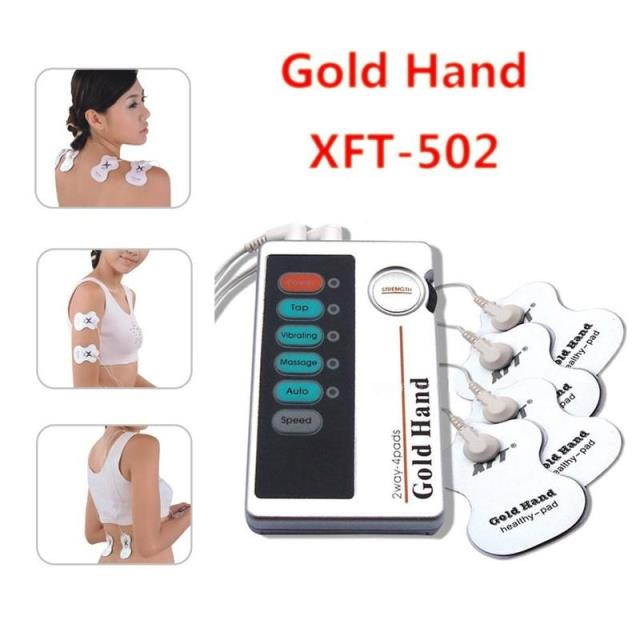 XFT-320 Health Care Body Foot Massager Dual Tens Machine Digital Electrical Therapy Acupuncture Massageador Stimulator Device 2017 hot sale mini electric massager digital pulse therapy muscle full body massager silver