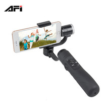 Made in China AFI V3 brushless yi handheld 3 axis gimbal stabilizer for iphone gopro action camera 3.5 to 6.1 inch smartphone