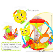 Soft Baby Toys 0-12 Months Stuffed Animal Baby Rattle Newborn Toys Hanging Bed Bell Crib Rattles Toys Educational Toys For Baby