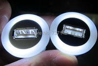 22mm Mounting Diameter Metal USB2 0 Female A To Female A With Light With 60cm Wiring