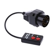 Pin narzędzie do resetowania 20 Pin gniazda Reset serwisowy oleju skanowania diagnostyczne narzędzie do BMW E30 E34 E36 E39 Z3ping wsparcie