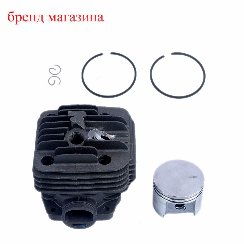 2015 Real Chainsaw part of  CYLINDER PISTON 49MM Cylinder Piston Ring Kit For Stihl TS400 TS 400 Cutoff Saw 4223 020 120