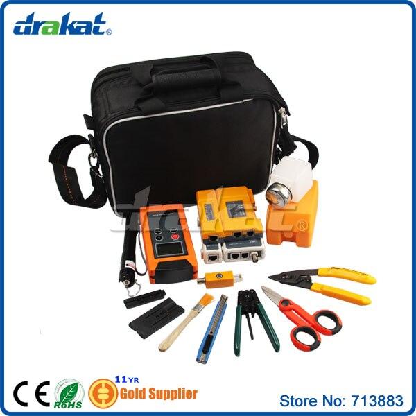14pcs Professional Fiber Optic Tool Kit Bag m29504 14 4151 [ fiber optic connectors 26 up start 3 wks aro ]