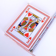 Jumbo playing cards A4 Size Full Deck Super Big paper poker cards  advertising Board Game cards promotion gift creative cards