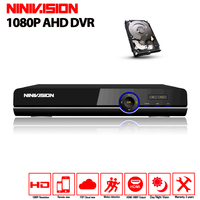 AHD DVR 16ch 1080 P домашнего наблюдения 16 каналов AHD H безопасности CCTV DVR видео рекордер HDMI 1080 P 16 каналов AHD видеорегистратор NVR 2 ТБ HDD