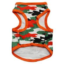 small Cotton Camouflage Vest for Pet Dog