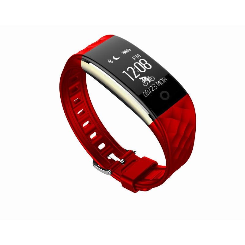 New Smart Wristbands S2 Smart Band Bracelet Wristband Heart Rate  Waterproof Bl