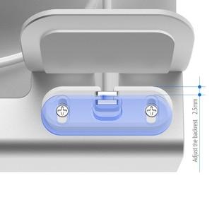 Image 5 - 電話ホルダー 3 で 1 充電ドックホルダーiphone × xr最大 8 7 6 アルミ充電ドックスタンドapple腕時計airpods