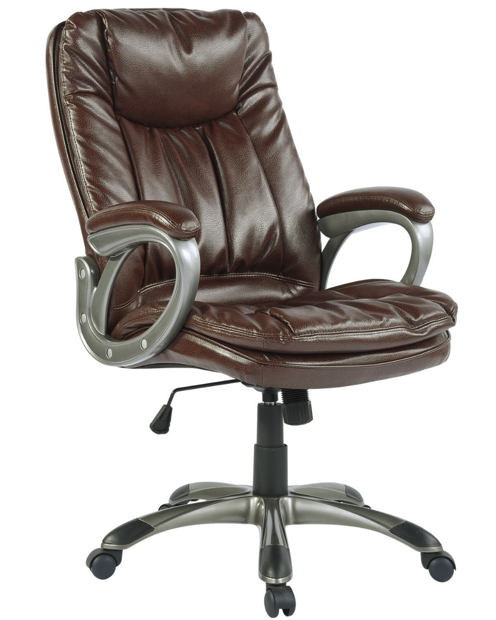 EGGREE Executive Office Chair With PU Material  Back And Seat  Swivel Lift Boss Chair ...