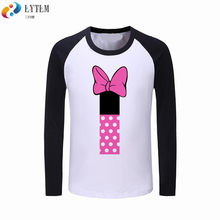 5ef047189 LYTLM Kids Girls Long Sleeves Tshirt and Tops Happy Birthday Shirts Baby  Girl Clothes Minne First