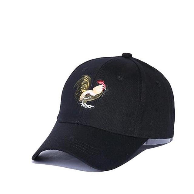 fe31268e2d526 Nueva gorra de béisbol de gallo de verano gorra de papá Snapback para  hombres mujeres sombrero