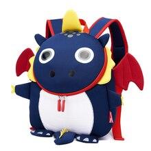 3D Fire Dragon Kids School Bags for Boys Waterproof Designer