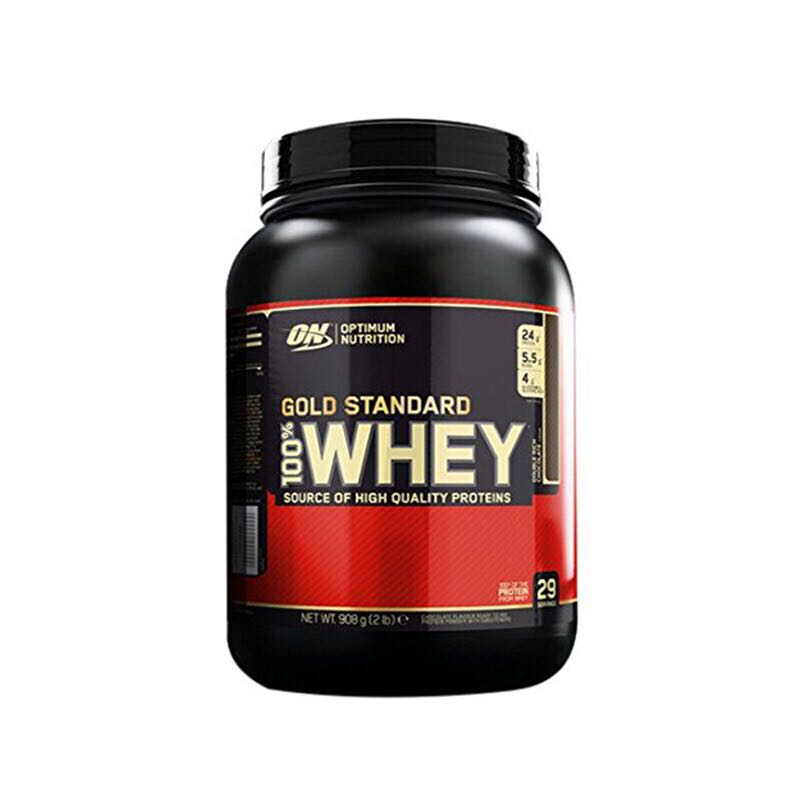 ON Optmont whey protein powder 2/1 lb whey sports fitness supplement image