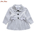 New 2016 Spring Autumn cotton Baby girl jackets children coat Girls clothing outerwear roupas infantis J0145