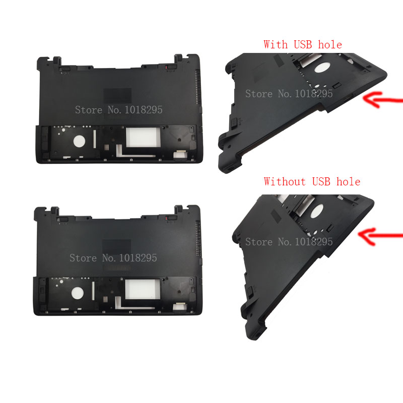Novo Para ASUS X550 X550C X550VC X550V X550C Series Laptop Inferior Caso Base Tampa 13N0-PEA1511/HDD hard cover