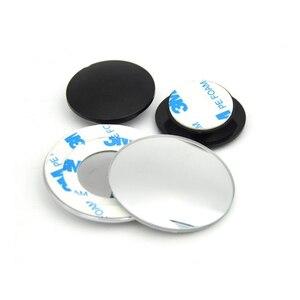 Image 4 - 1 זוג 360 תואר ללא מסגרת ultrathin רחב זווית עגולה קמור כתם עיוור מראה עבור חניה מראה אחורית באיכות גבוהה