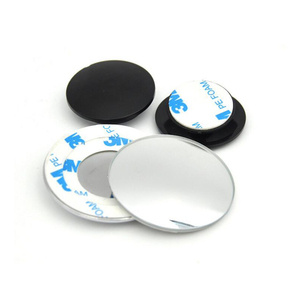 Image 4 - 1 pair 360 Degree frameless ultrathin Wide Angle Round Convex Blind Spot mirror for parking Rear view mirror high quality