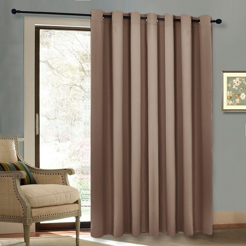 Autumn Winter Grommet Top Thermal Insulated Extra Wide Solid Autumn Winter  Grommet Top Thermal Insulated Extra. Insulating Patio Doors ...