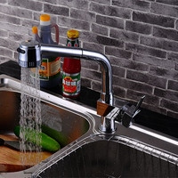 Highly Quality Pull Out Solid Brass Kitchen Sink Mixer Tap For Hot Cold Water Mixer Tap