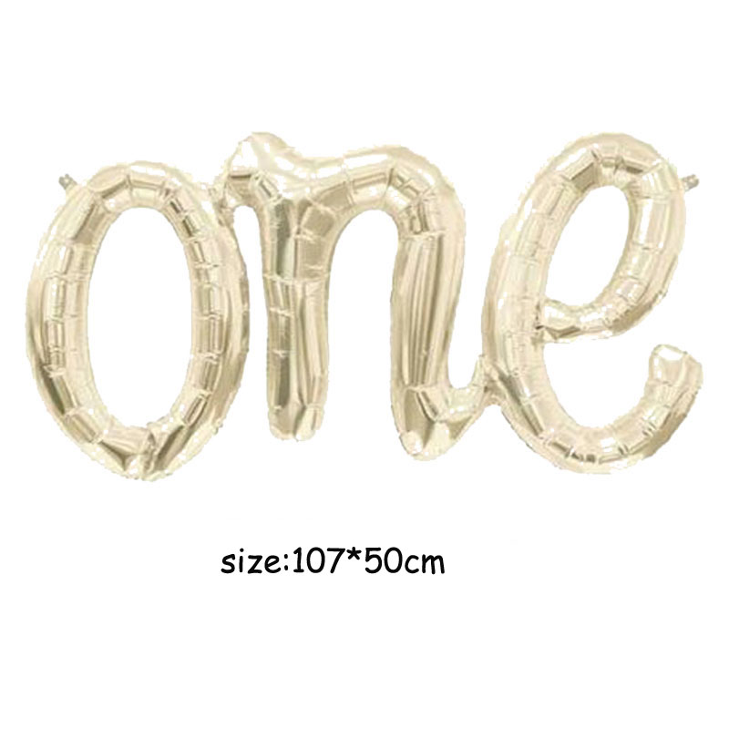 Image 5 - Jumbo White Gold Baby Balloon Baby Boy Script Balloon Baby Shower Air Fiol Helium Balloon Gender Reveal Decorations-in Ballons & Accessories from Home & Garden