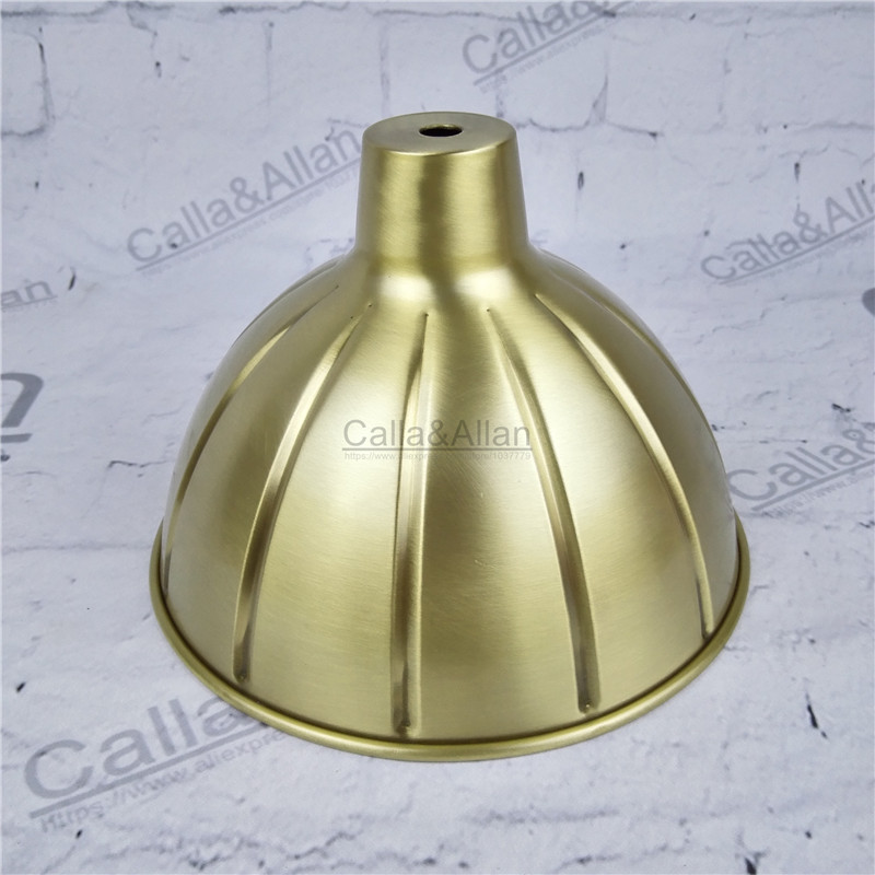 Free ship M10 D180mmX120mm brass material light cover copper cup shade quality E27 lamp shade cover lighting brass shade cone free shipping m40 d200mmx50mm brass material light cover copper cup shade quality e27 lamp shade cover lighting brass shade cone