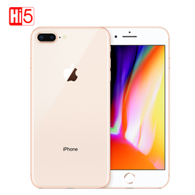 Entsperrt Apple iphone 8 plus 64G/256G ROM Drahtlose lade 2691 mAh iOS Fingerprint A11 Bionic 5,5 zoll iphone8 plus smartphone