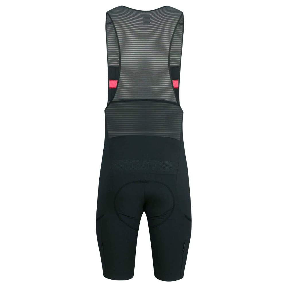 2019 SPEXCEL nuevos pantalones cortos de ciclismo gris oscuro con bolsillo Italia pad babero pantalones cortos para rider de 7-8 horas la mejor calidad - 2