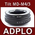 Tilt Mount Adapter Ring Suit For Minolta MD MC Lens to Micro 4/3 M43 GX1 G5 GF3 EP3 EPM1 EP5 EPL3 OM-D E-M1 E-M5 Camera