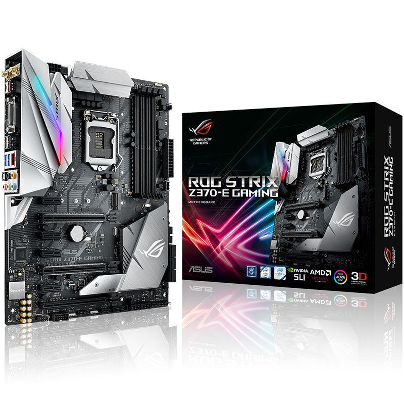 Asus ROG STRIX Z370-E GAMING Raptor Z370 overclocking game board