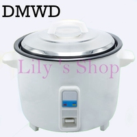 DMWD Large capicity electric rice cooker steamer non stick hot rice pot 10L 110V 220V restaurant Cooking Machine keep warm EU US