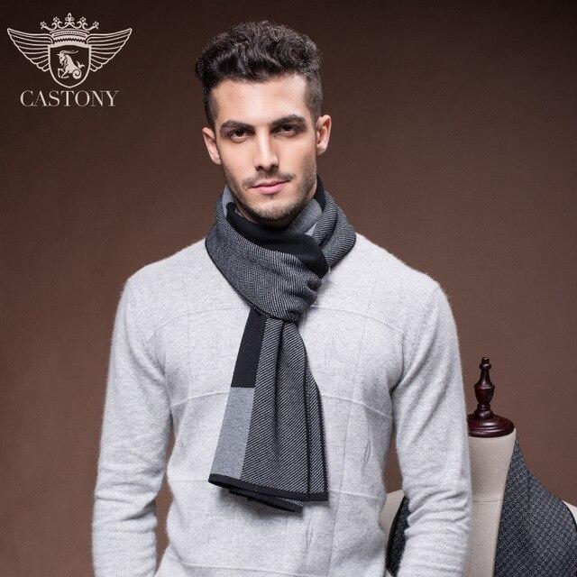 2017 мужской шарф новый мужская зимняя бизнес теплый воротник мужской шарф Применить к полу
