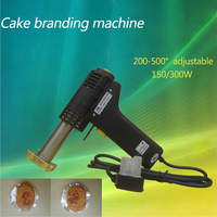 Free DHL 1pc Electric Iron Cake Mark Cake Branding Machine Stamping Embossing Machine
