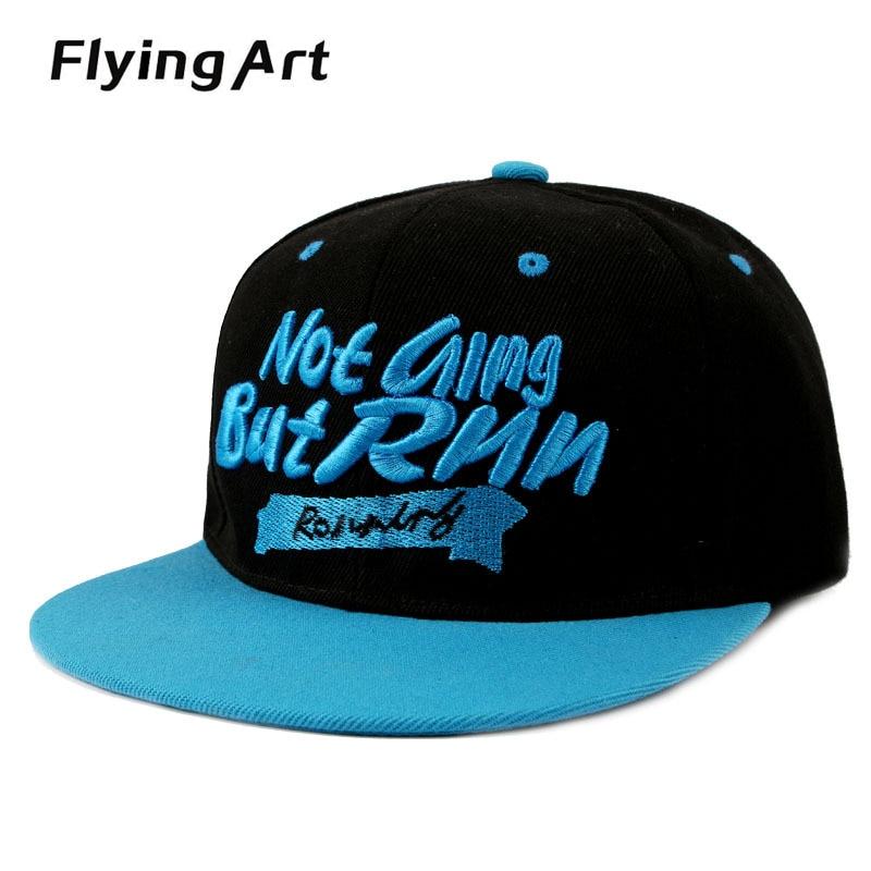 New Gorras Planas Hip Hop Cap Snapback Hip Hop Hat Men Cappelli Hip-Hop Metal Swag Mens Snapbacks Brand Flying Art