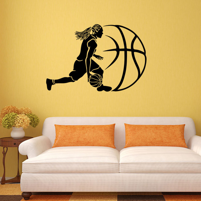 4040 Aiwall Play Basketball Wall Stickers Home Decor Wall Decals For Kids  Room Decoration Vinyl Decals