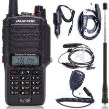 Baofeng UV XR 10W 4800Mah Batteria IP67 Impermeabile Radio Portatile 10KM Potente Walkie Talkie Two Way Radio HF ricevitore Radio di Prosciutto