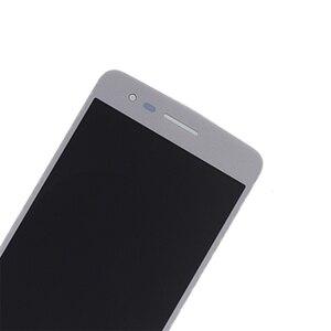Image 2 - 5.0 inç Orijinal LG K8 2017 Aristo M210 MS210 US215 M200N dokunmatik LCD ekran Ekran Çerçeve ile tamir kiti Değiştirme + araçları