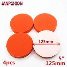 JANPSHION 4 PC 125mm Bruto Polishing Lustrando Pad 5