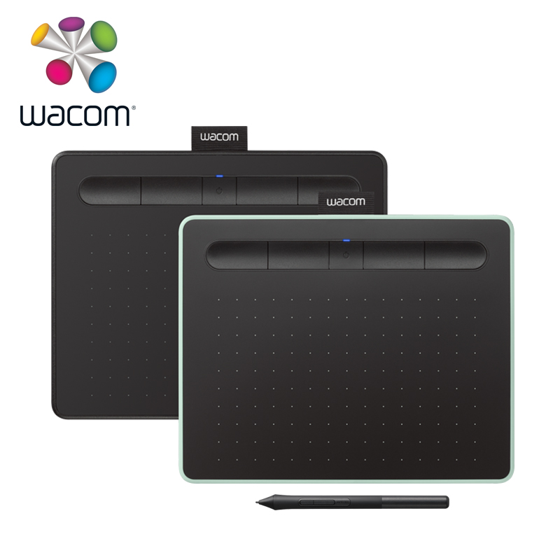 Tablettes de dessin graphique Wacom Intuos CTL-6100WL sans fil tablette numérique 4096 niveaux de pression avec 3 logiciels Bonus