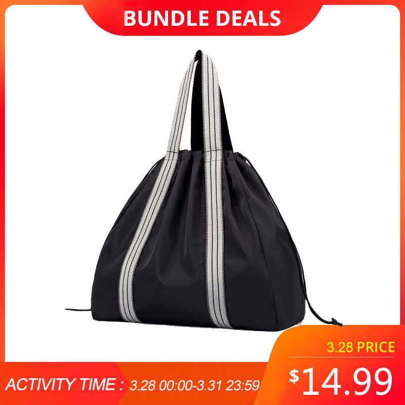 8b311c4d4 Nylon Yoga Mat Bags Gym fitness Bag Backpack Sac De Sport Sports Shoulder  Drawstring Gymtas Handbag