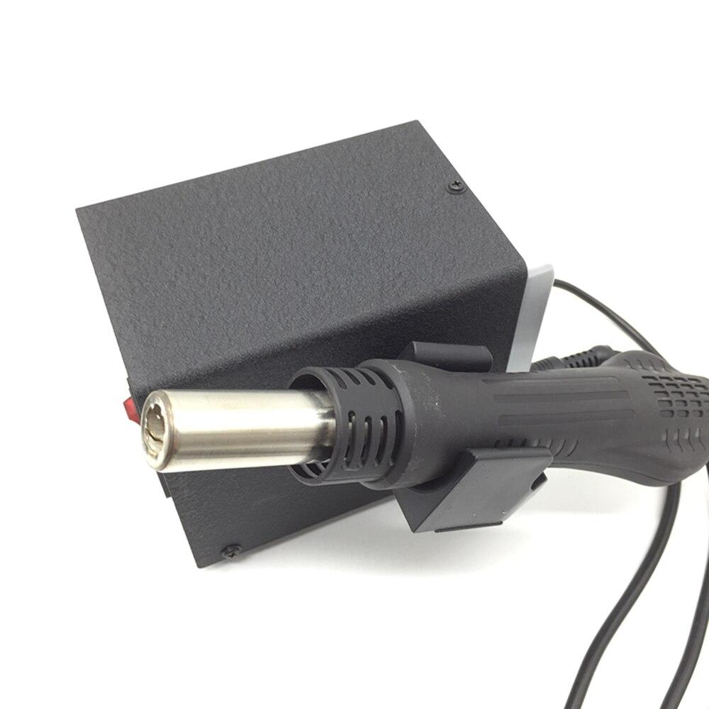 220 V/110 V 700W Station de soudure 8586 2 en 1 SMD Station de reprise pistolet à Air chaud + fer à souder électrique pour le soudage kit d'outils de réparation - 6
