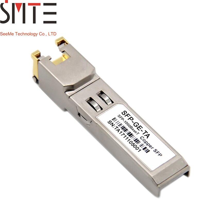 Lot of 2 Genuine FOUNDRY E1MG-100FX 100-FX LC multi-mode SFP 1310nm Transcievers