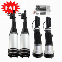 5 PCS Front Rear Shock Absorber+Air Compressor For Mercedes S Class W220 S430 S500 S600 S55 AMG 2203205013 2203205113 2203202338