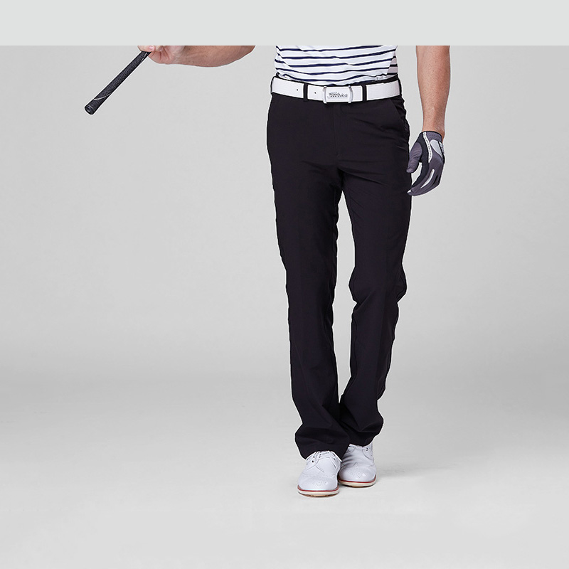 2016new POLO Men s Golf Pants Summer Breathable Thin Pants High Elastic Sport Trousers Genuine
