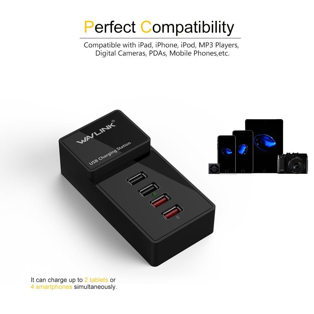 US plug 4 poort wandlader USB 3.0 laadstation met lichtnetadapter 2 - Computerrandapparatuur - Foto 4
